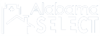 Alabama Select White Logo